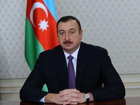 Президент Ильхам Алиев поздравил азербайджанский народ по случаю праздника  ...