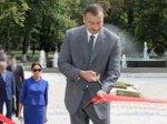 Президент Азербайджана принял участие в открытии торгового центра