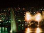 В новогоднюю ночь площадь