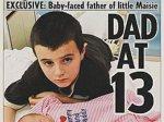 Британец стал отцом в 13 лет