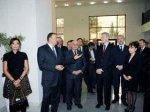 Ильхам Алиев принял участие в церемонии официального открытия Бакинского филиала МГУ